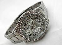 Женские часы Rolex Daytona, механические с автозаводом, серебристые