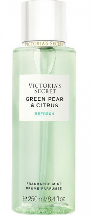 Парфюмированный спрей для тела Victoria's Secret Green Pear & Citrus Refresh