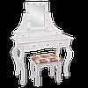 ТУАЛЕТНИЙ столик,косметичний столик з табуреткою і підсвічуванням