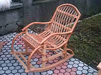 Детская кресло качалка из лозы