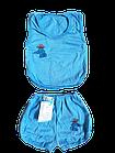 Костюми дитячі набори безрукавка шорти р.52,56,60. Від 6шт по 36грн, фото 5