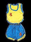 Костюми дитячі набори безрукавка шорти р.52,56,60. Від 6шт по 36грн, фото 2