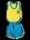 Костюми дитячі набори безрукавка шорти р.52,56,60. Від 6шт по 36грн, фото 3