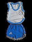 Костюми дитячі набори безрукавка шорти р.52,56,60. Від 6шт по 36грн, фото 6