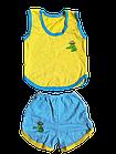 Костюми дитячі набори безрукавка шорти р.52,56,60. Від 6шт по 36грн, фото 7