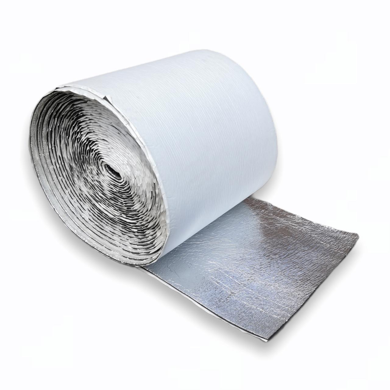 Вспененный каучук самоклеющийся ламинированный пленкой 6 мм