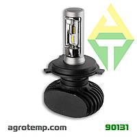 Лампа LED світлодіодна 12В 50Вт (к-кт 2 шт) Н4
