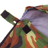 Спальный мешок одеяло с капюшоном SY-066 Камуфляж, фото 4
