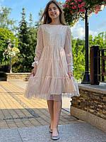 Ошатне плаття з фатину для дівчинки р. 116 - 164 від 6 до 15 років