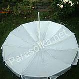 Зонт пляжный синий 2,5 метра на 12спиц, фото 2