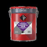 ЕЛАСТОТЕТ-ВЛ КОЛОР сірий (20 кг) Однокомпонентне поліуретанове жорстко-еластичне покриття для підлог.