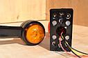 Габарит LED 12V занесення причепа Права сторона і ліва 12вольт ( РІЖКИ ), фото 4