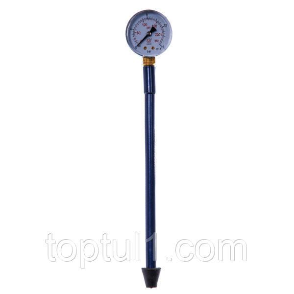 Компрессометр прижимной удлинённый бензиновый Газель КОМПР16Г