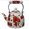 Чайник емальований 2л ZAUBERG 9 L RED