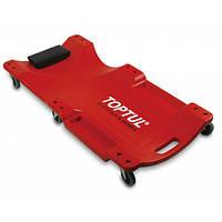 Лежак автослюсаря підкатний пластиковий TOPTUL 1020x480x115 мм JCM-0300, фото 1