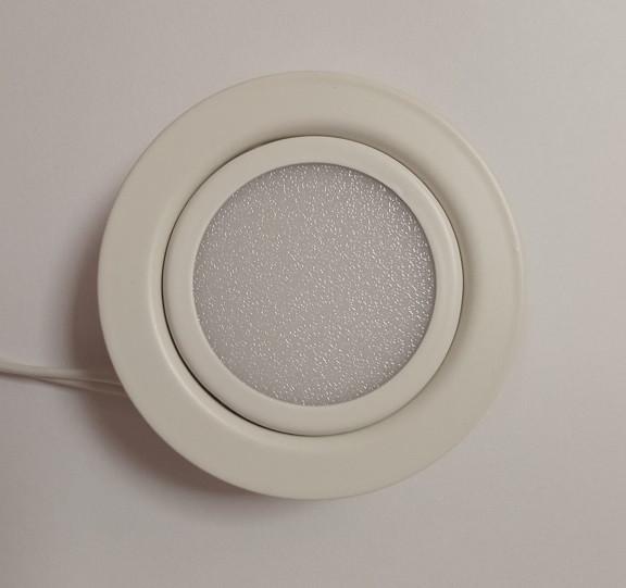 Світлодіодний меблевий світильник Feron LN7 3W 4000K білий 220V (врізний) Код.55134