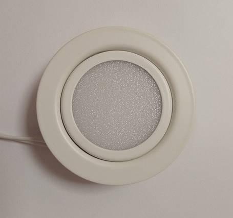 Світлодіодний меблевий світильник Feron LN7 3W 4000K білий 220V (врізний) Код.55134, фото 2