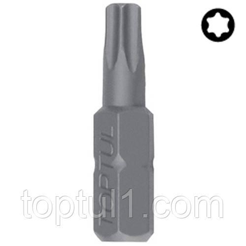 """Біта для викрутки TOPTUL 1/4"""" 25мм TORX T30 FSEA0830"""