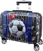 Детский пластиковый чемодан DeLune 003