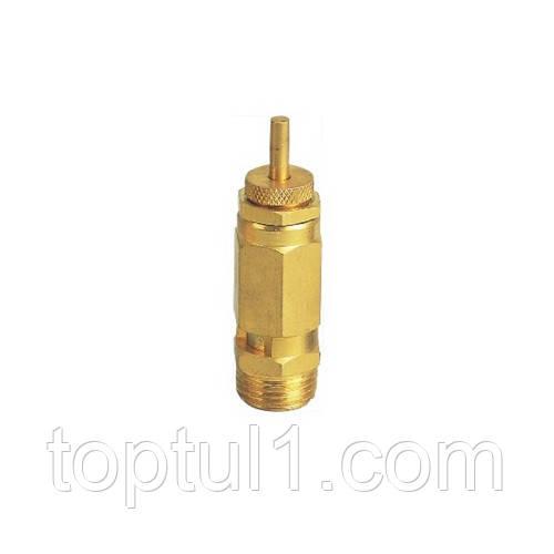 """Зворотний клапан латунний 3/8"""" AIRKRAFT SP010-03"""
