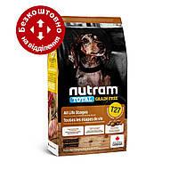 T27 Nutram Total 5,4 кг беззерновой корм для собак дрібних порід з індичкою