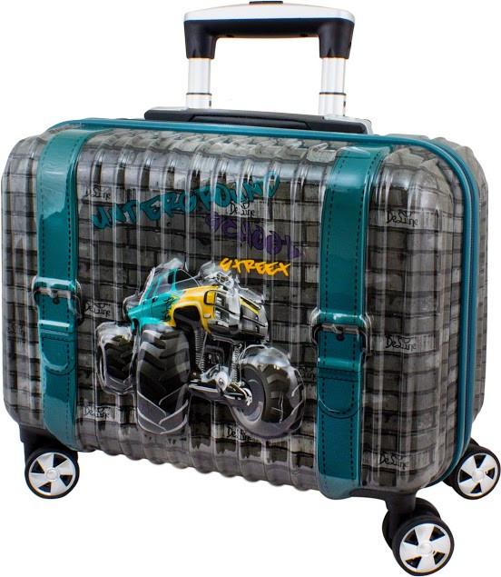 Детский пластиковый чемодан DeLune 004