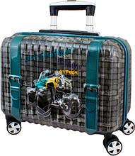 Дитячий пластиковий чемодан DeLune 004