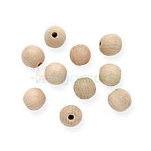 Дерев'яні намистини 20 мм, яблуня, 1 шт