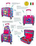 Детский пластиковый чемодан DeLune 004, фото 9