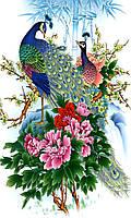 """Набор алмазной вышивки (мозаики) """"Павлины - прекрасная пара"""" 65х55"""