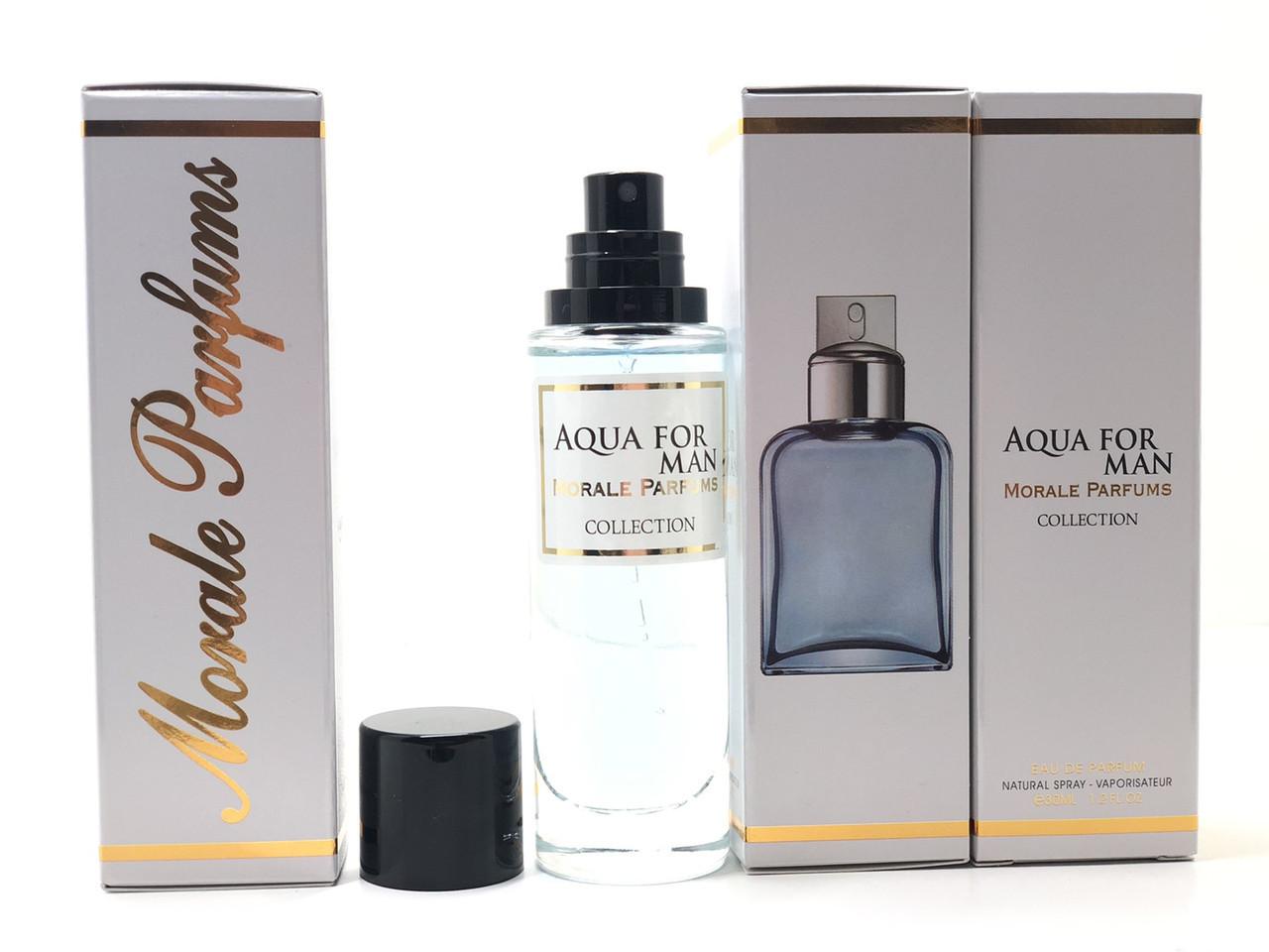 Чоловічий аромат Aqua For Man Morale Parfums (Аква Фо Мен Морал Парфум) 30 мл