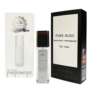 Pheromone Formula Narciso Rodriguez Pure Musc женский 40 мл
