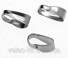 Бейл разъемный держатель для кулона 7х3х3 мм Сталь