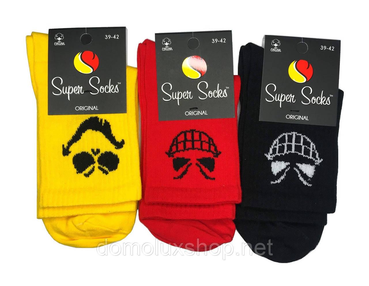 Super Socks Шкарпетки Crazy Smile р. 41-44 (S036)