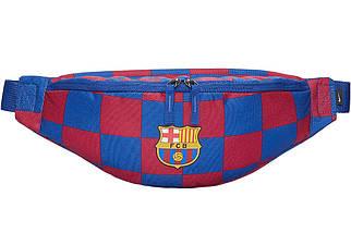 Поясная сумка бананка Nike FC Barcelona Stadium Heritage Hip Pack CK6487-421 сине-гранатовая (Оригинал)