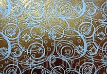 Трансфери Візерунок золото 340х265 мм (Італія)
