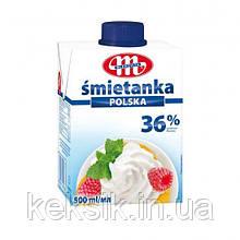 Сливки Smietanka 36% - 0,5 л