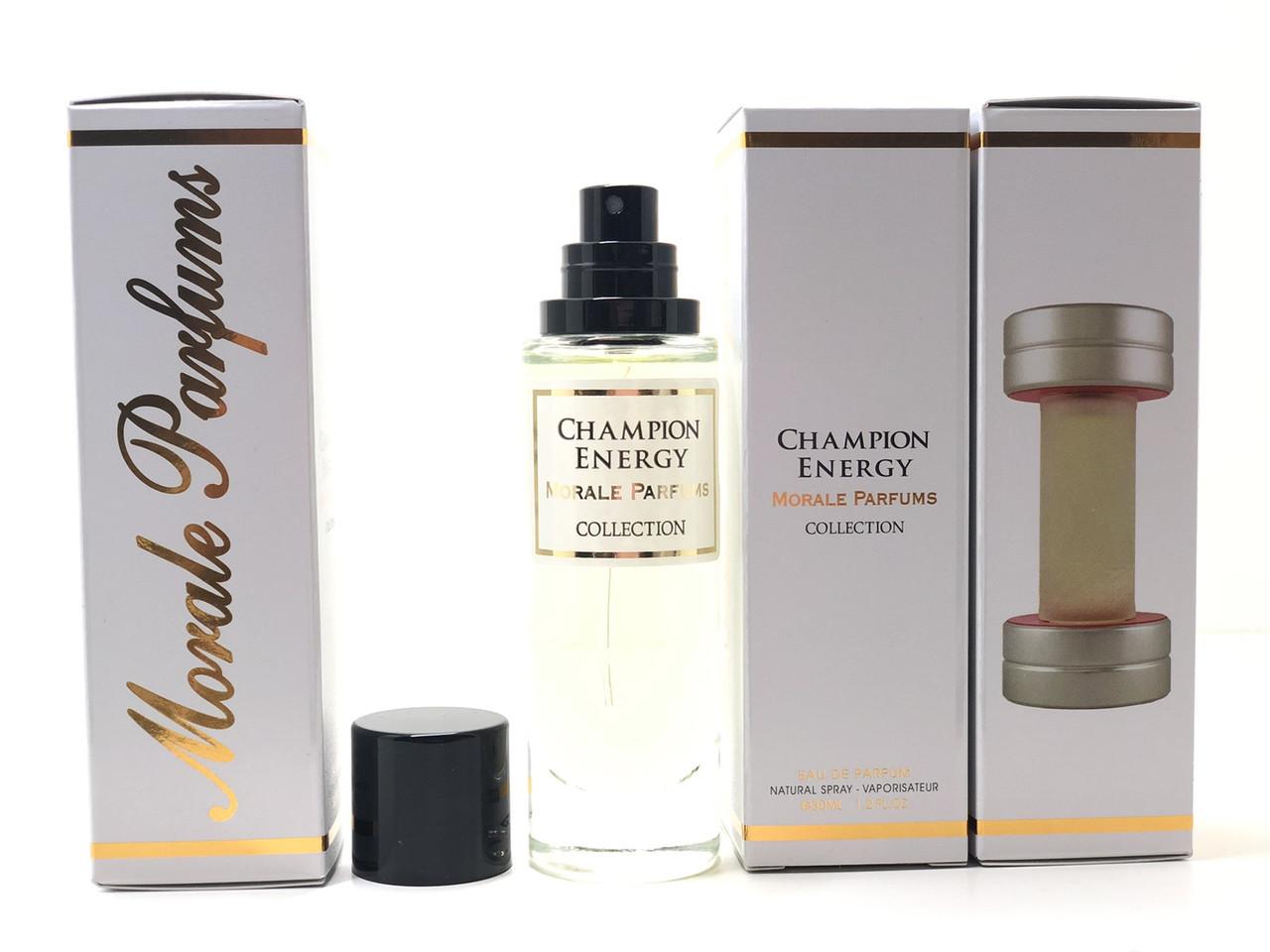 Мужской аромат Champion Energy Morale Parfums (Чемпион Энерджи Морал Парфюм) 30 мл