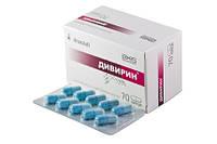 Дивирин- противовирусный,противосспалительный.