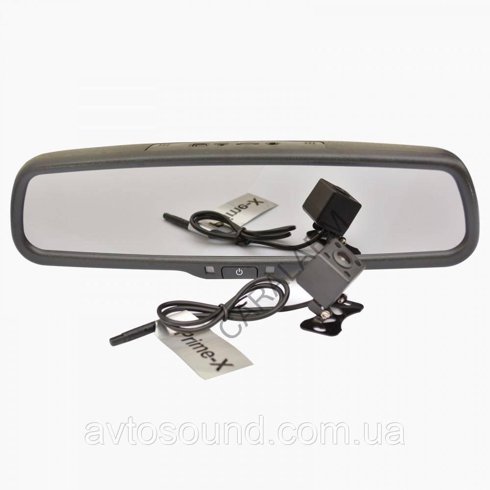 Зеркало заднего вида со встроенным Full HD видеорегистратором Prime-X SW300