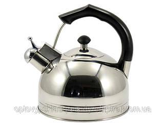 Чайник нержавеющая сталь со свистком 3 литра ZB 005/3 ZAUBERG