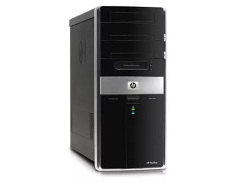 Cистемный блок HP Pavilion Elite m9000-Mini-Tower-Core2 Quad Q6600-2.4GHz-2Gb-DDR2-HDD-250Gb-(B)- Б/У