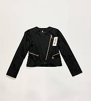 Котоновый пиджак для девочек. 128 рост.