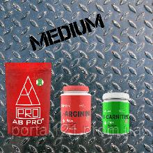 Комплект Жироспалювання (рельєф) MEDIUM (система для схуднення, амінокислоти, жироспалювач)
