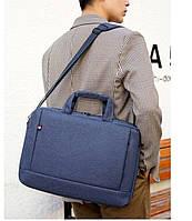 Сумка для ноутбука. Мужской портфель для документов. Мессенджер через плечо. СП01