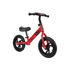 Дитячий беговел Baishs HS-A313 Red безпедальний велосипед для дітей двоколісний 28 см