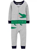 """Человечек хлопковый Картерс """"Крокодильчик"""" 12м,18м,24м"""