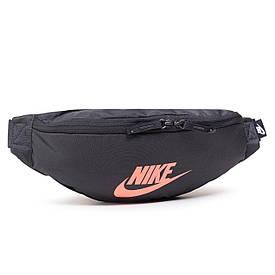 Женская поясная сумка Nike Nk Heritage Hip Pack BA5750-050 темно-серый (Оригинал)