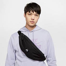 Оригинальная сумка на пояс и через плечо Nike Nk Sb Heritage Hip Pack-Woven BA6445-010 черный (Оригинал)