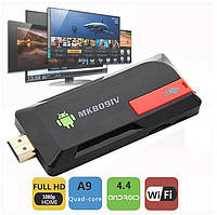 Медиаплеер четырехъядерный Android Smart TV box MK809IV, фото 1